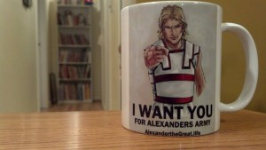 i want you coffee mug